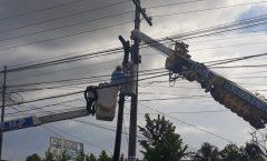 Continúan mejoras a instalaciones de Electricidad
